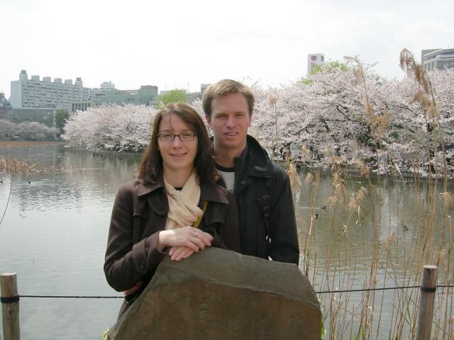Shinobazu Pond in Ueno