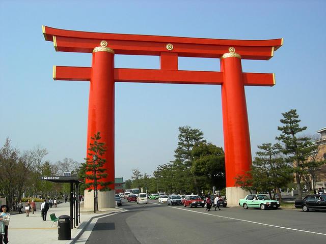 Gate to Heian Shrine